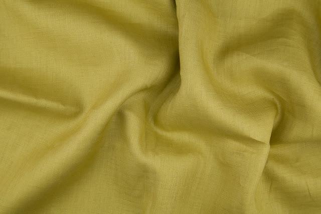 Kiwi Handkerchief Linen Fabric