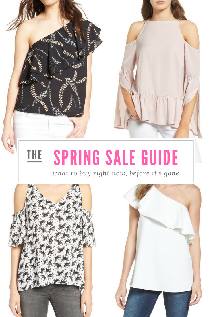 Spring Essentials - what to buy right now at the Nordstrom Half Yearly Sale