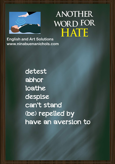 another word for hate