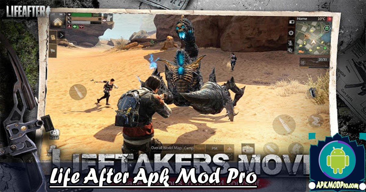 Download LifeAfter Mod APK + OBB 1.0.158 Terbaru 2020
