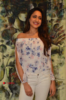 Actress Pragya Jaiswal Latest Pos in White Denim Jeans at Nakshatram Movie Teaser Launch  0071.JPG