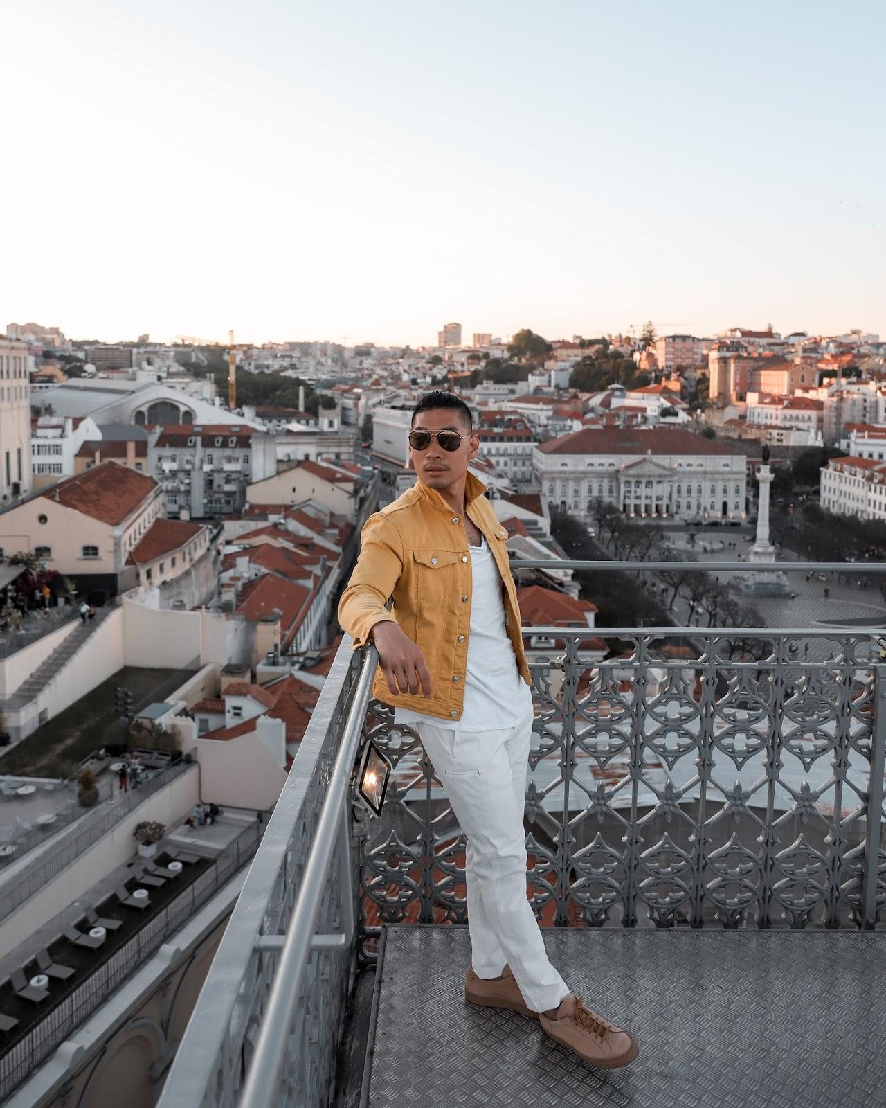Leo Chan at the Santa Justa Lift | Tips and Tricks