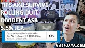 ASB 5.5% JE? TIPS AKU SURVIVE BAYAR BULANAN ASB. 200K FINANCING LOAN.