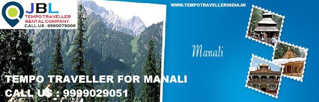 Tempo Traveller for manali