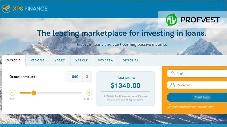 XPS Finance обзор и отзывы HYIP-проекта