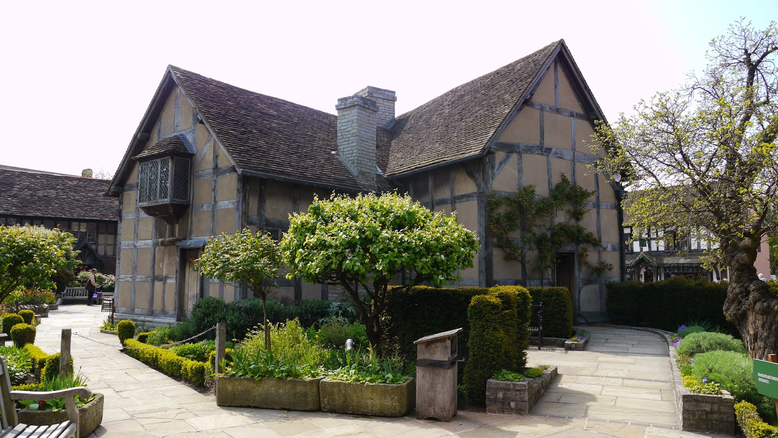 shakespeare's home, stratford upon avon, uk