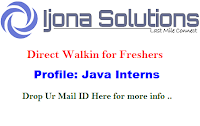 Ijona-Services-walkin-freshers-bangalore