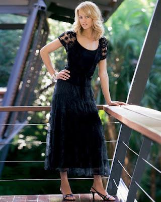 Black Maxy Dress Magdalena Wróbel