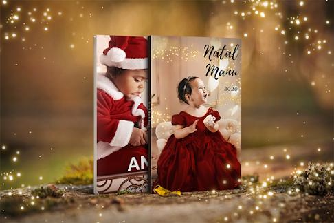 Modelos de álbuns de book bebê Natal