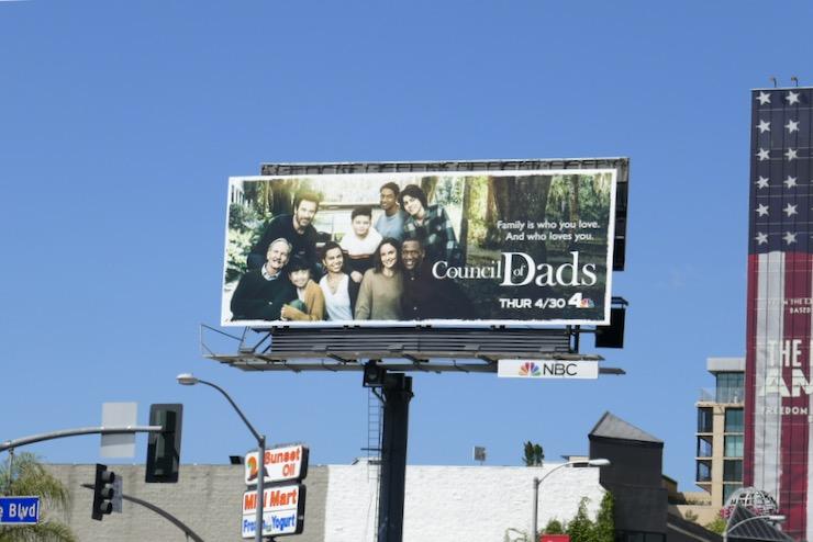Council of Dads season 1 billboard