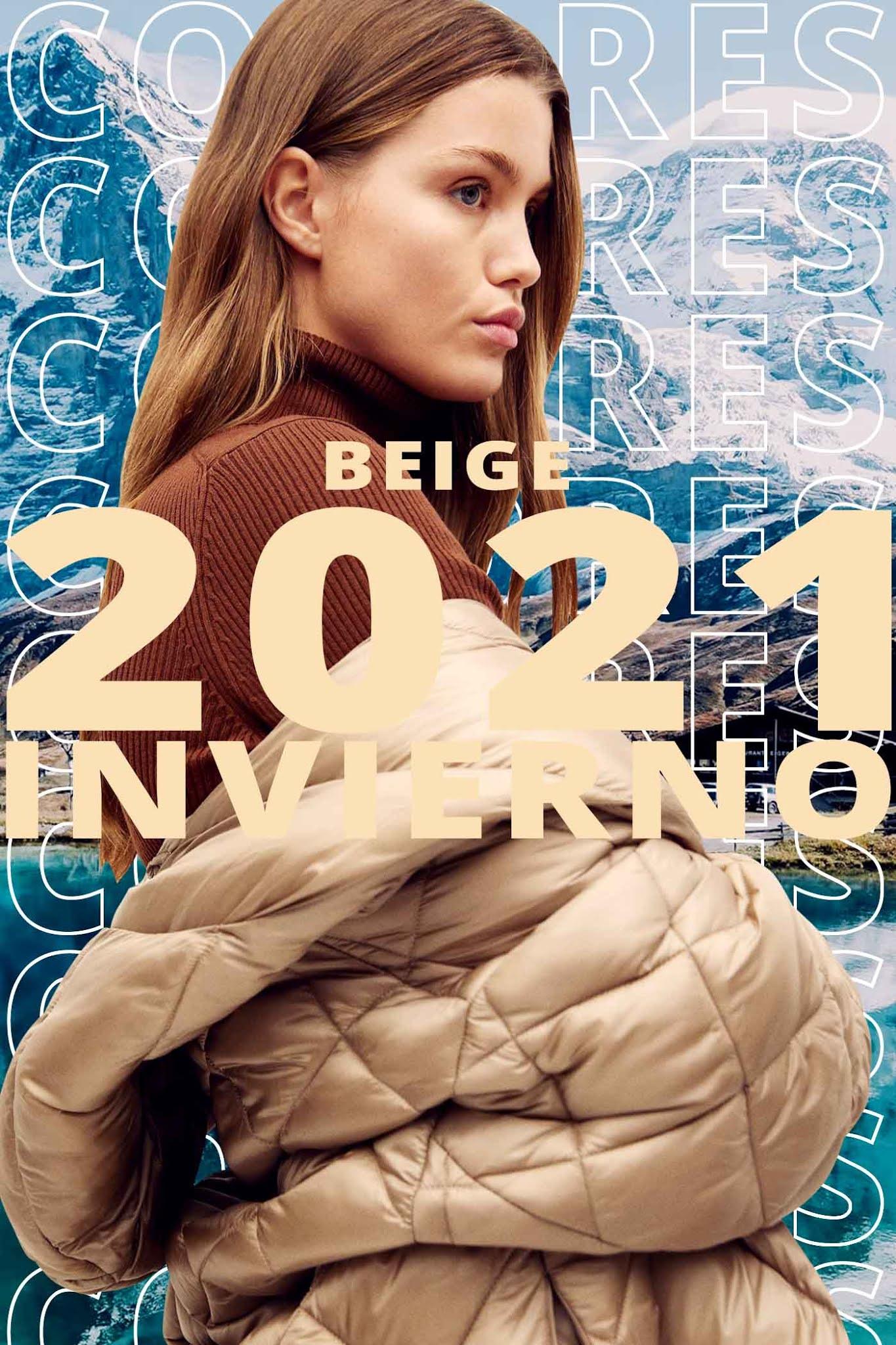 Color de moda invierno 2021 Beige