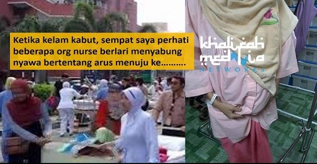 Hospital Terbakar. Pesakit Ni Dedah Tindakan MENGEJUTKAN Nurse Yang Buat Ramai TERPANA !!!