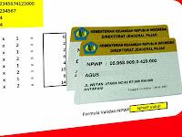 Aplikasi Excel Cek Kevalidan NPWP dengan Perhitungannya
