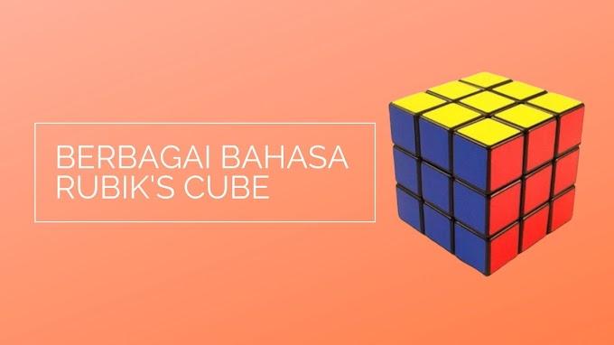 Kubus Rubik dalam Berbagai Bahasa di Dunia