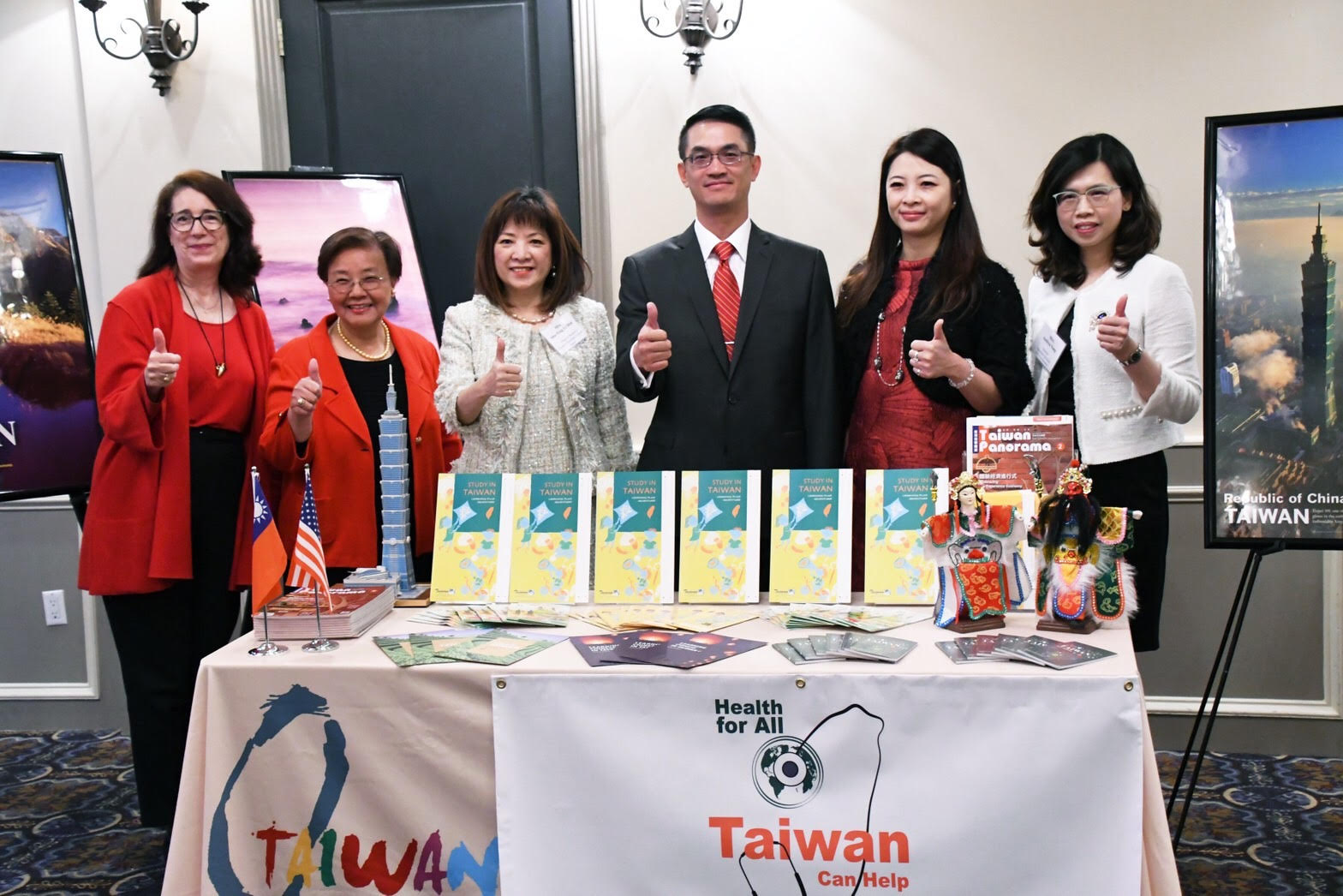 駐休士頓辦事處教育組 Leading Taiwan Women Support Houston S See To Succeed Program For Students