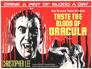 Poster - Taste the Blood of Dracula (1970)