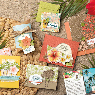 Stampin' Up! Timeless Tropical Suite ~ January-June 2020 Mini Catalog ~ www.juliedavison.com