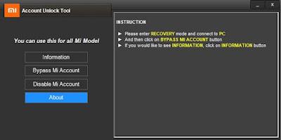 مميزات ادة 2021 mi account unlock tool
