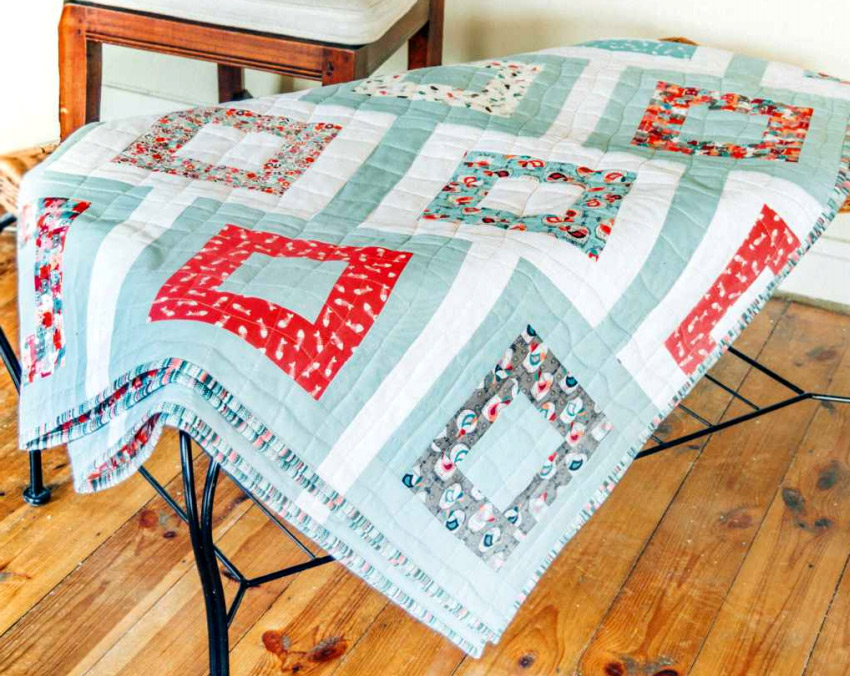 Patchwork Quilt. Step-by-step instructions