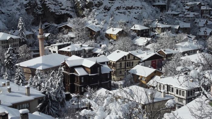 16.01.2019 Mudurnu Kar Manzaraları