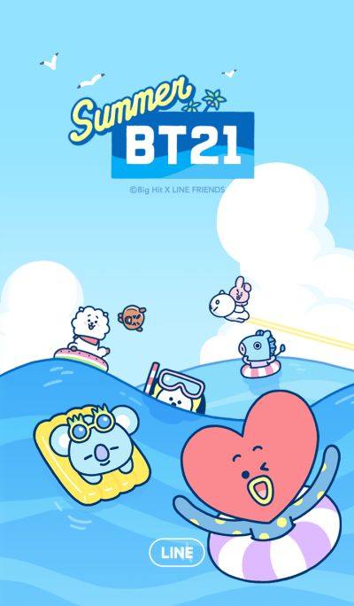 BT21: Summer Time