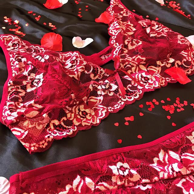 SHEIN Valentines Lingerie
