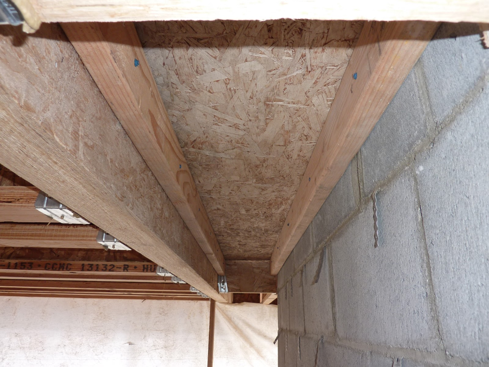 BOISINEAU MASONRY: The second floor slab form is ready to go