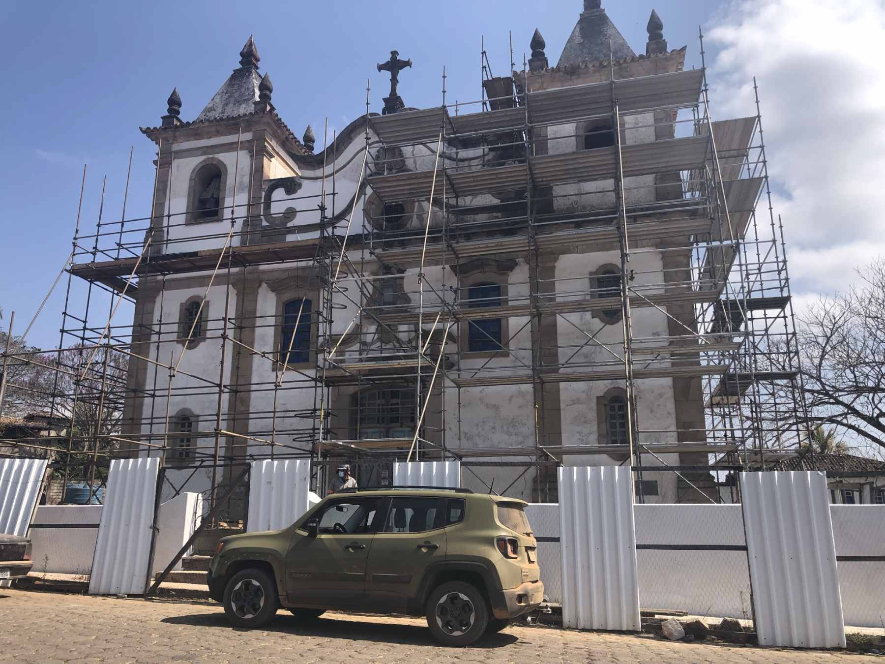 Igreja Matriz de Santo Antônio das Garças Brancas