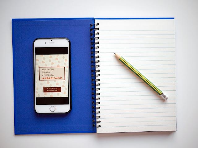 """Ebook gratis """"Reflexiona, planea y disfruta de la vida en familia"""""""