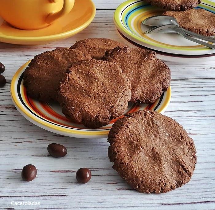Galletas de chocolate - Solo 3 ingredientes