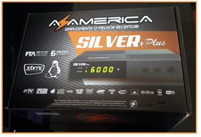 Azamerica Silver + Plus Atualização V1.30 - 10/09