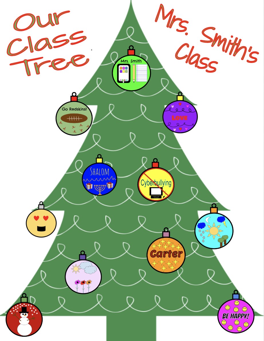 Design an Ornament for Your Class Tree Collaborative Class Project for Google Drive