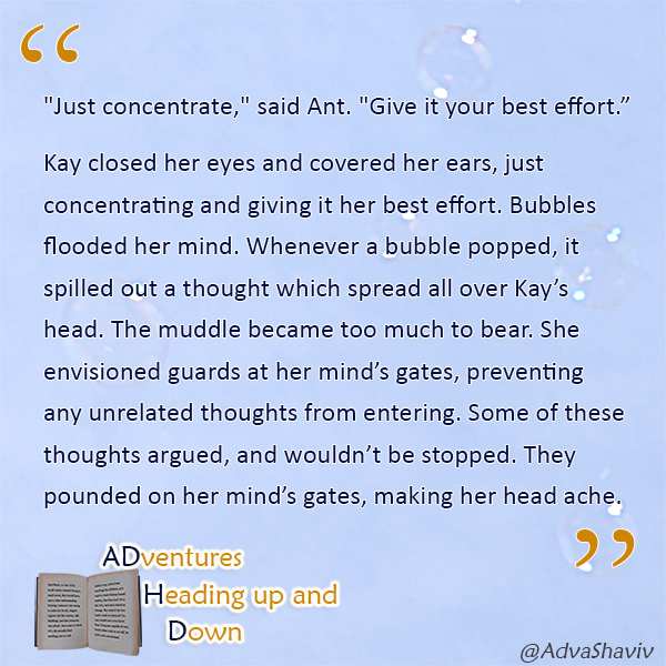 Light blue background with floating bubbles. Text: the quote which follows in the text below this image