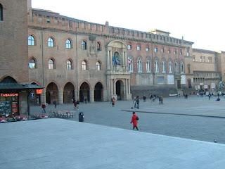 Piazza Maggiore is Bologna's main square