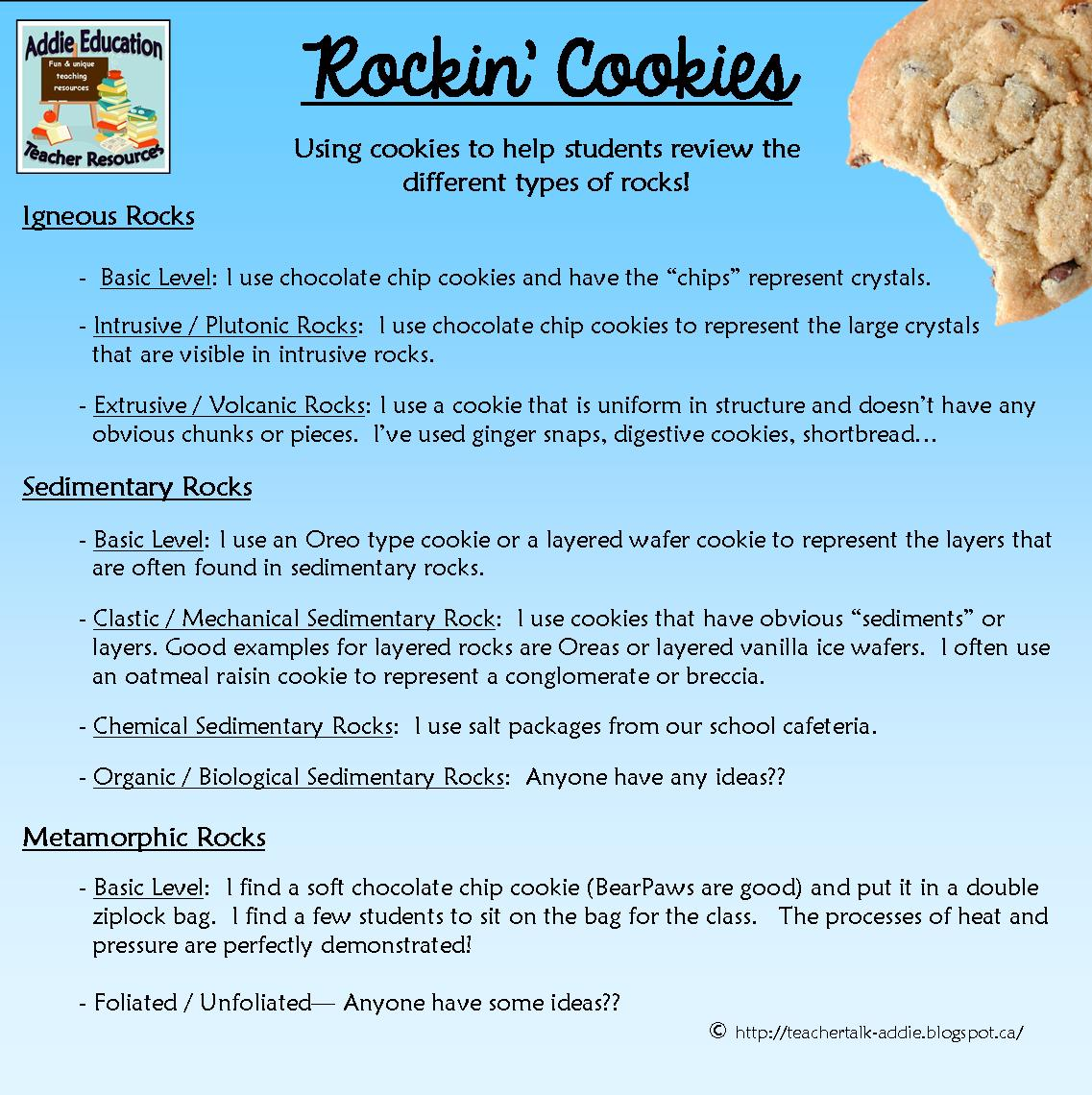Using Cookies in Your Science Classroom - Addie Williams