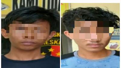 ALAMAK, Masih Muda Sudah Curi Hp, 2 Warga Sergai Ditangkap Polsek Tebingtinggi