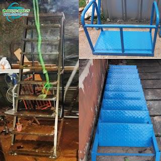 tangga dorong murah