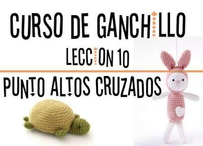Curso de Ganchillo-Lección 10