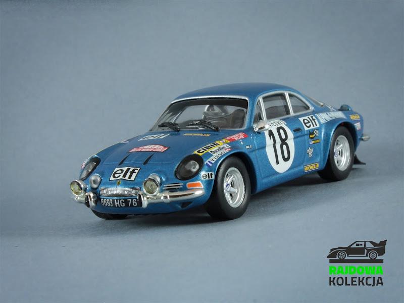 IXO RAC013 Alpine Renault A110, Rallye Monte-Carlo 1973