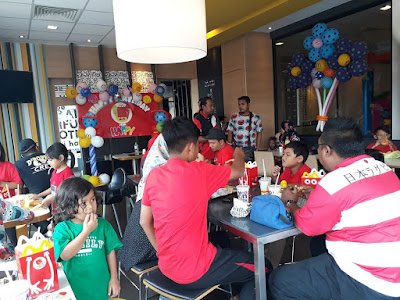 Pengurus Besar McDonald's Meru Raya : Buktikan Pelajar Lepasan SPM Mampu Berjaya