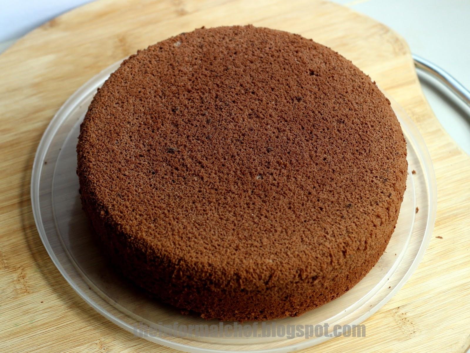 The Informal Chef: Basic Chocolate Sponge 巧克力海绵蛋糕