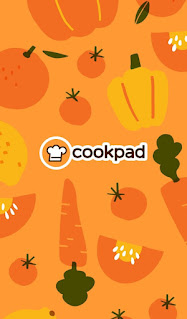 Tampilan halaman awal aplikasi Cookpad