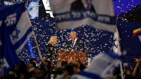 Netanyahu gana en Israel con el 90% del voto escrutado