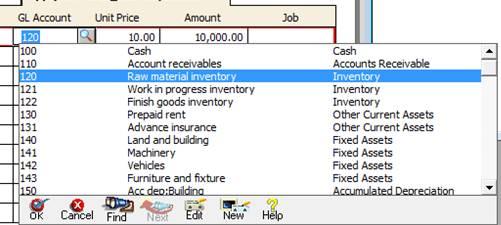 Rana Abdullah Khalid: Purchase/Receive Inventory-Peachtree