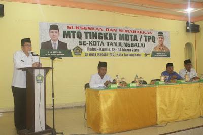 Buka MTQ Tingkat MDTA/TPQ, Al Ahyu Berharap Dapat Melahirkan Generasi Pecinta Al-Qur'an