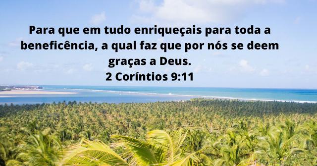11 Versículos da Bíblia sobre Generosidade