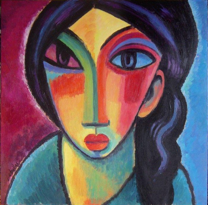 Женские фигуры и лица