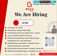We Are Hiring at Boga Group Jawa Timur Juli 2020