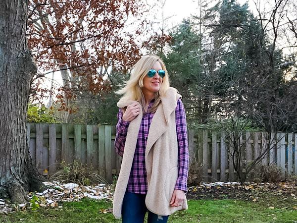 2 Ways to Style a Cozy Teddy Vest