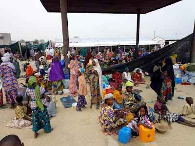 You can't imagine 4,000  Dikwa IDPs without shelter as they emerged [Boko Haram]